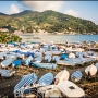 Levanto Włochy Liguria Italy  Port, beach, boats -02-252